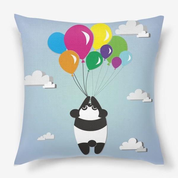 Подушка «Летящая панда»