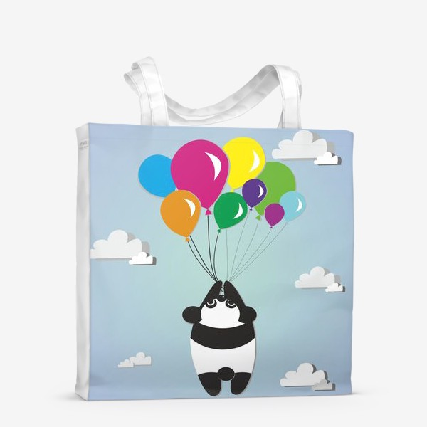 Сумка-шоппер «Летящая панда»