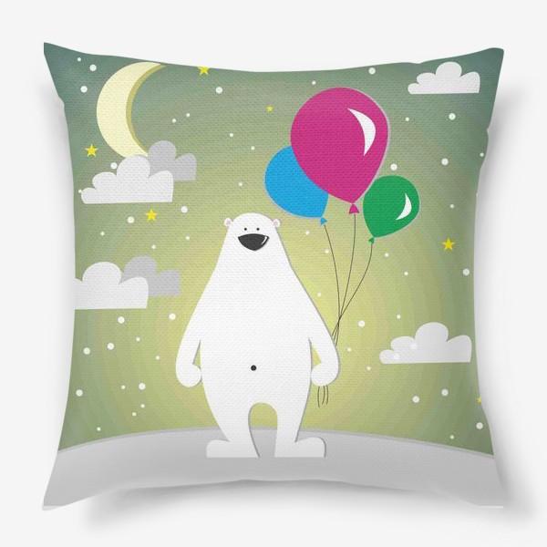 Подушка «Полярный мишка»