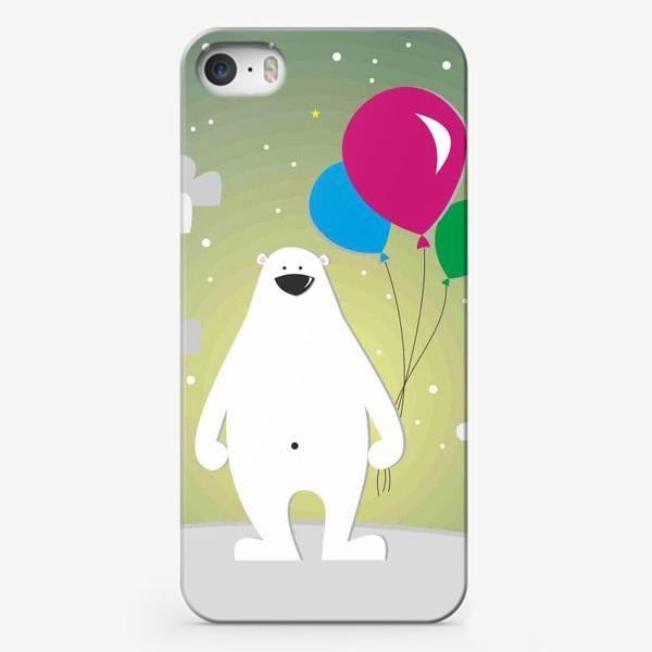 Чехол iPhone «Полярный мишка»