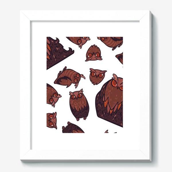 Картина «owls»