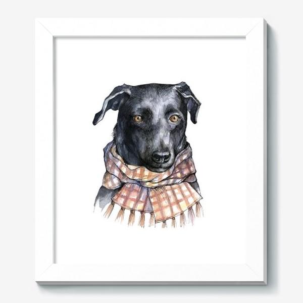 Картина «Собака и шарф»