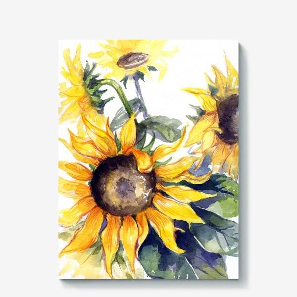 Холст «Sunflowers»
