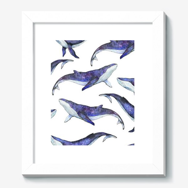 Картина «Whales pattern»