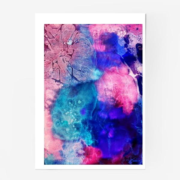 Постер «Волшебная акварель»