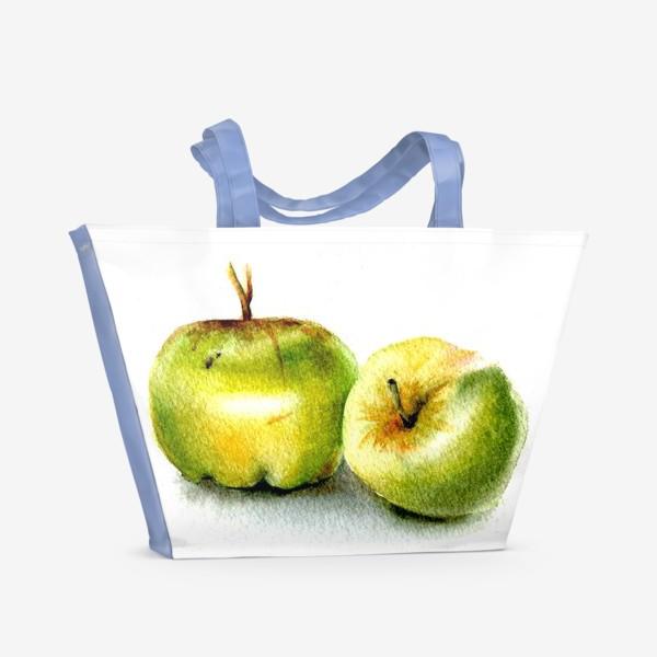 Пляжная сумка «Яблоки»