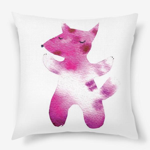 Подушка «Розовый волчок»
