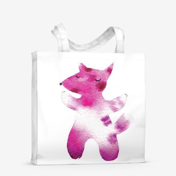 Сумка-шоппер «Розовый волчок»