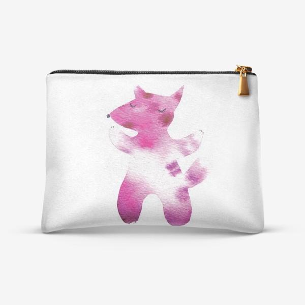 Косметичка «Розовый волчок»
