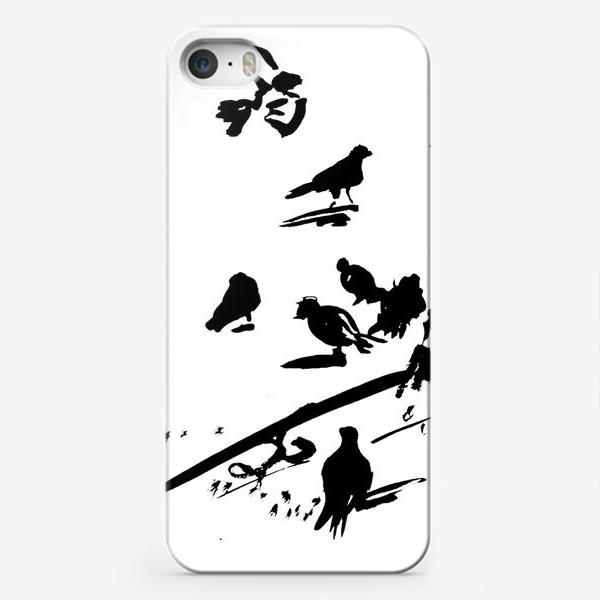 Чехол iPhone «Голубки»