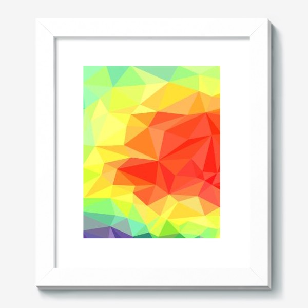 Картина «Polygonal Rainbow »
