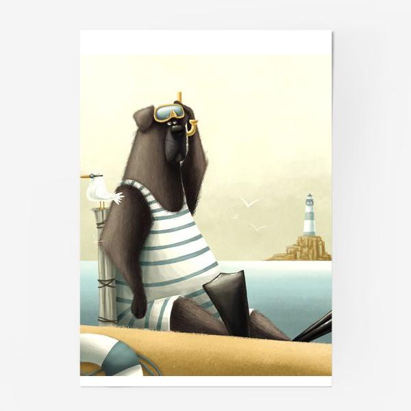 Постер «Водолаз»