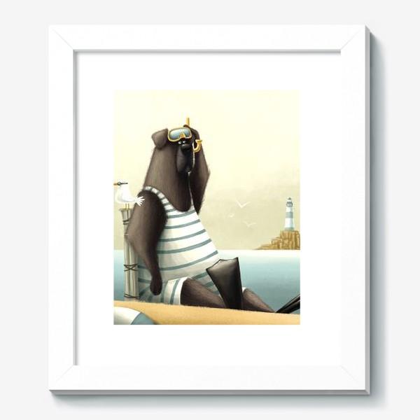 Картина «Водолаз»