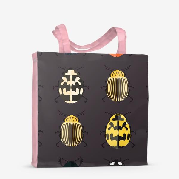 Сумка-шоппер «Цветные жуки»