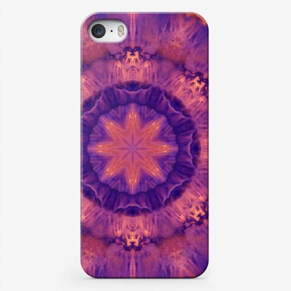 Чехол iPhone «Purple Mandala 3»