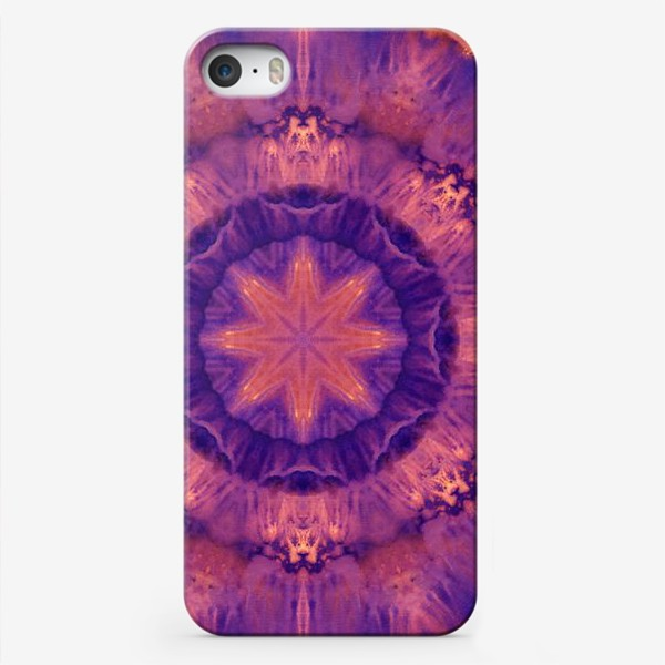 Чехол iPhone «Purple Mandala 3»