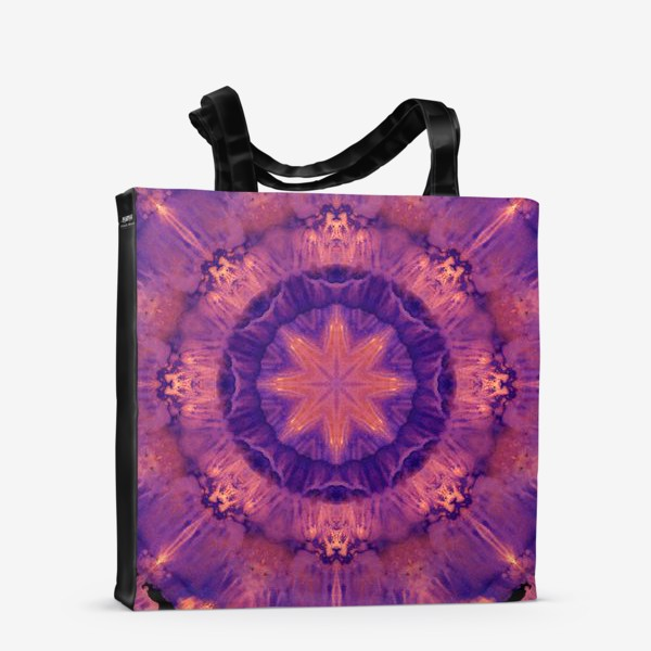 Сумка-шоппер «Purple Mandala 3»