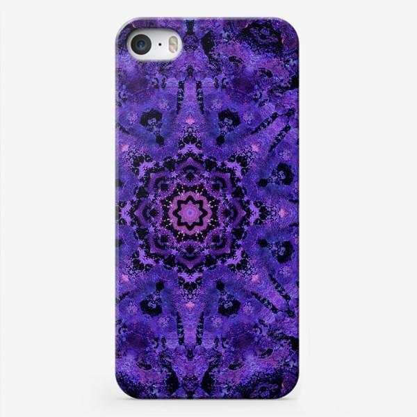 Чехол iPhone «Purple Mandala 2»