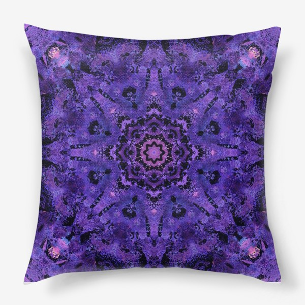 Подушка «Purple Mandala 2»