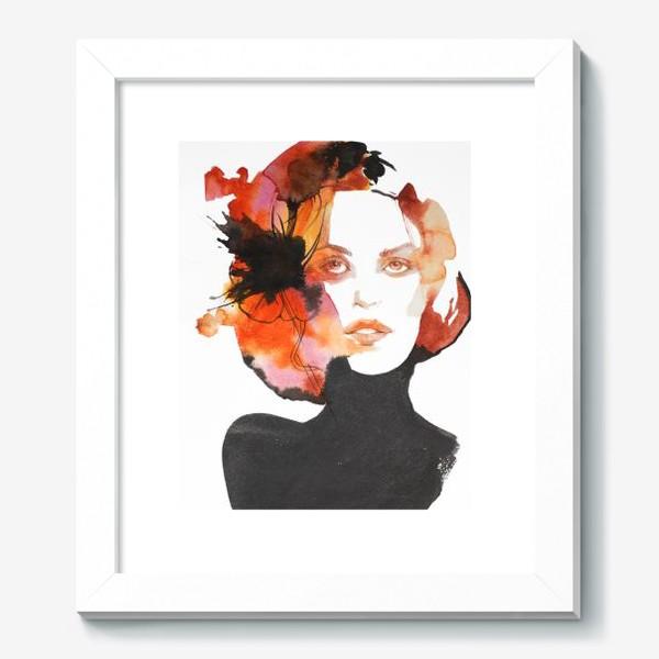 Картина «Черный цветок»