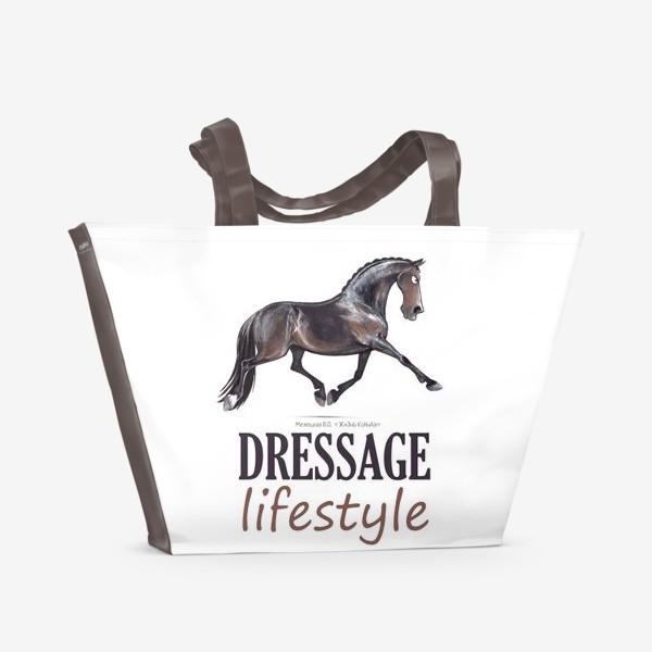 Пляжная сумка «DRESSAGE LIFESTYLE. ВЫЕЗДКА»