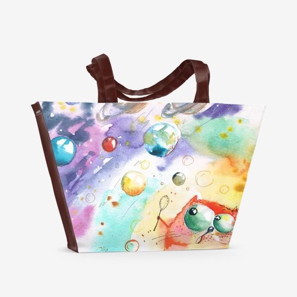 Пляжная сумка «Космос »