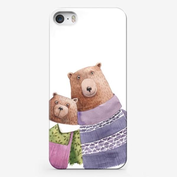 Чехол iPhone «Семейка»