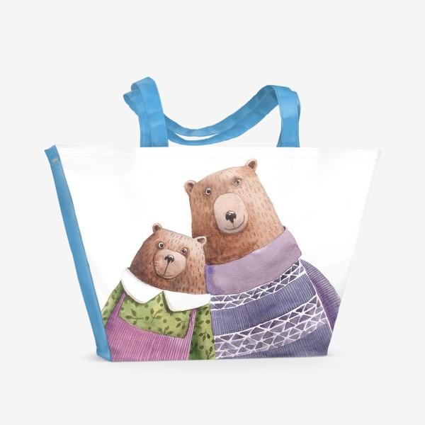 Пляжная сумка «Семейка»