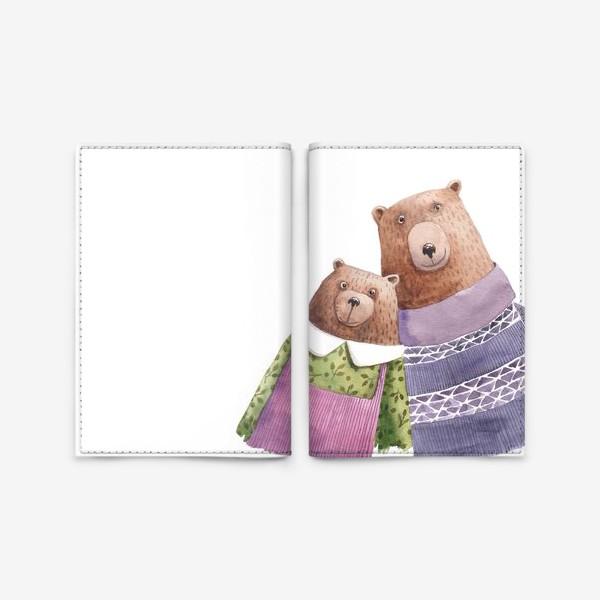 Обложка для паспорта «Семейка»