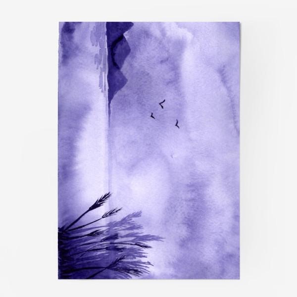 Постер «Озеро. Пейзаж»