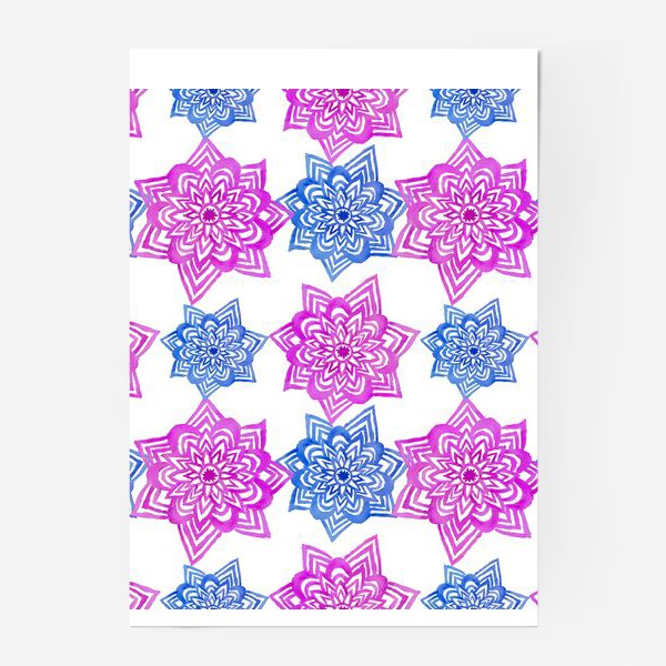 Постер «Pink Blue»