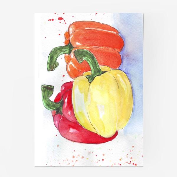 Постер «Яркие перцы»