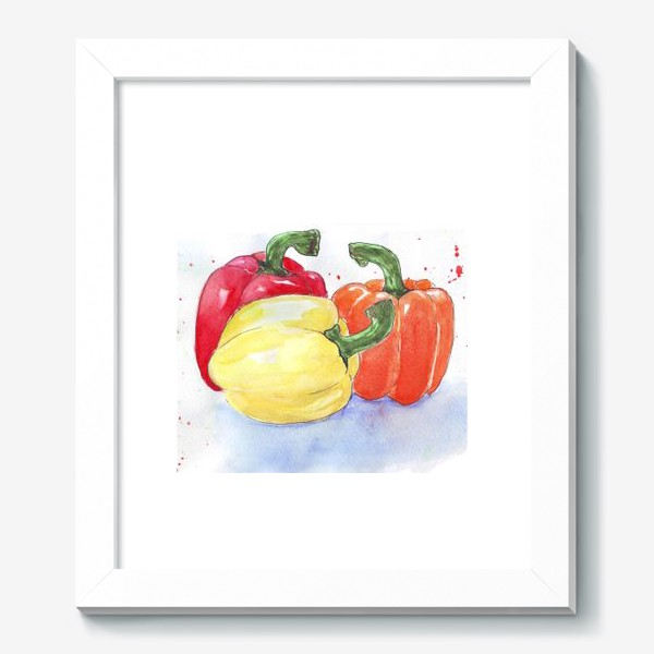 Картина «Яркие перцы»