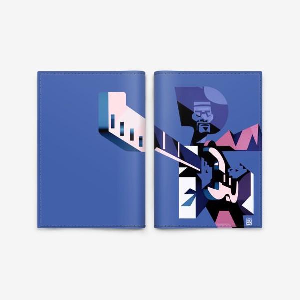 Обложка для паспорта «Джими Хендрикс»