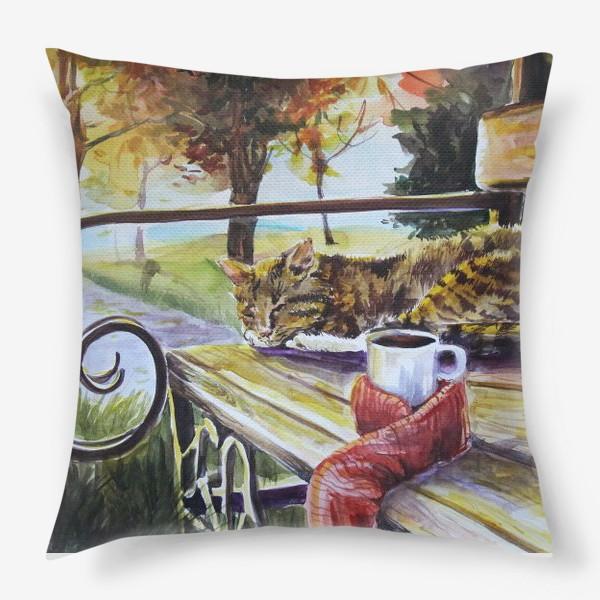 Подушка «Осеннее тепло»