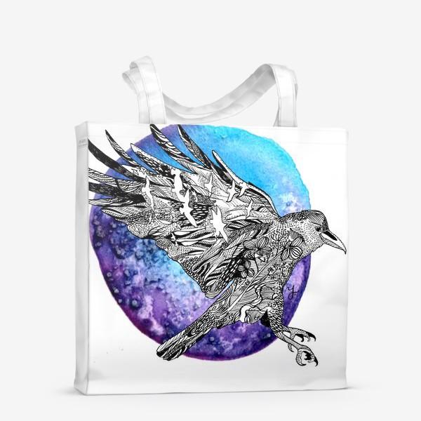 Сумка-шоппер «Ворон»