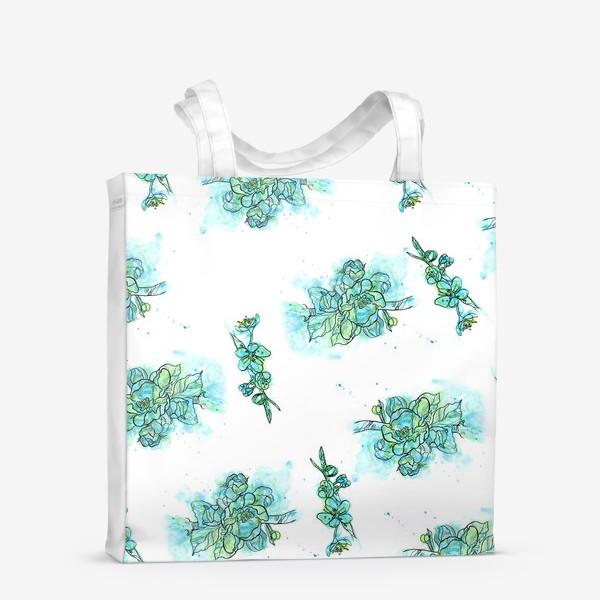 Сумка-шоппер «Цветение вишни»