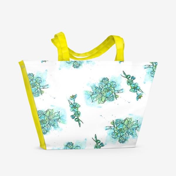 Пляжная сумка «Цветение вишни»
