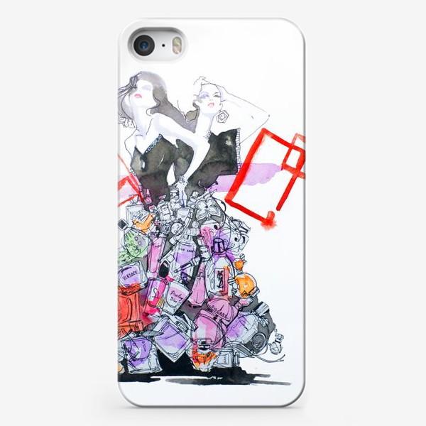 Чехол iPhone «Духи»