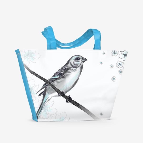 Пляжная сумка «Bird»