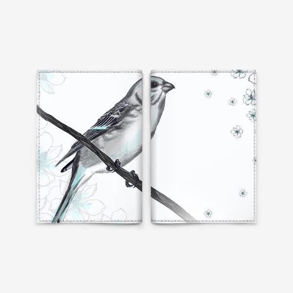 Обложка для паспорта «Bird»