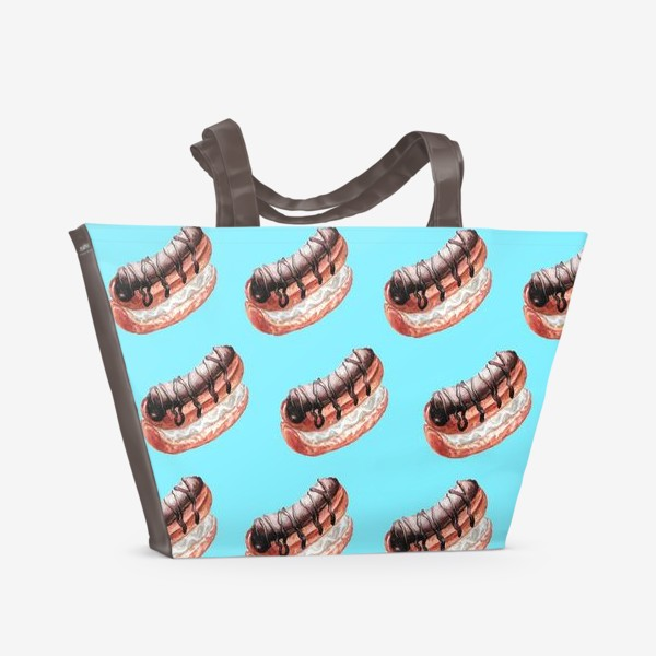 Пляжная сумка «Эклеры»