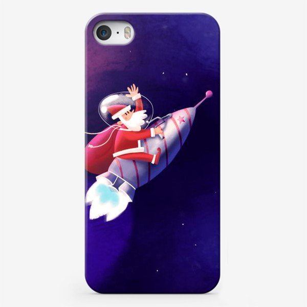 Чехол iPhone «Дед Мороз»