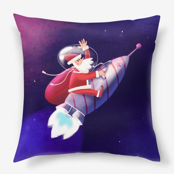 Подушка «Дед Мороз»