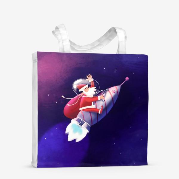 Сумка-шоппер «Дед Мороз»