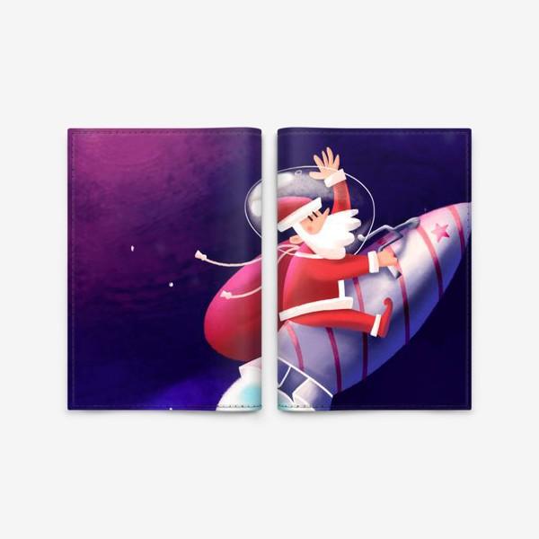 Обложка для паспорта «Дед Мороз»