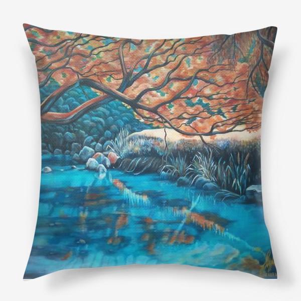 Подушка «Осенний пейзаж.»