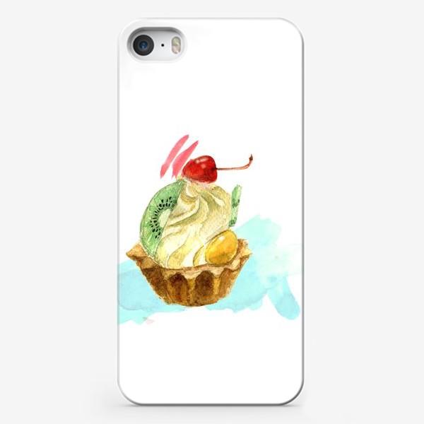 Чехол iPhone «Пироженка»