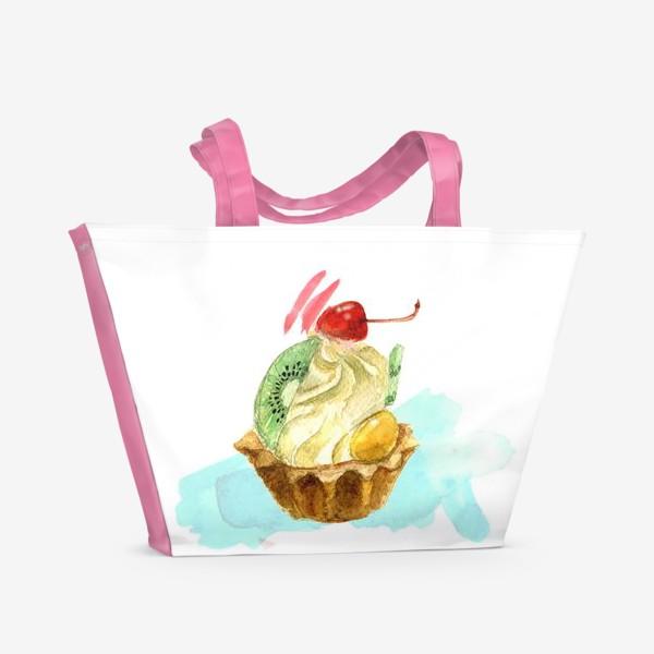 Пляжная сумка «Пироженка»