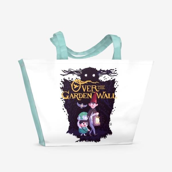 Пляжная сумка «По ту сторону изгороди»